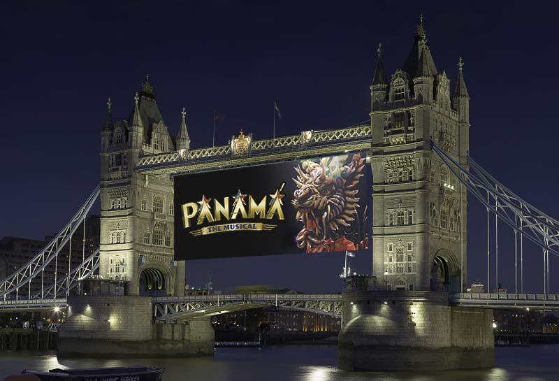Panama the Musical in London - Tower Bridge