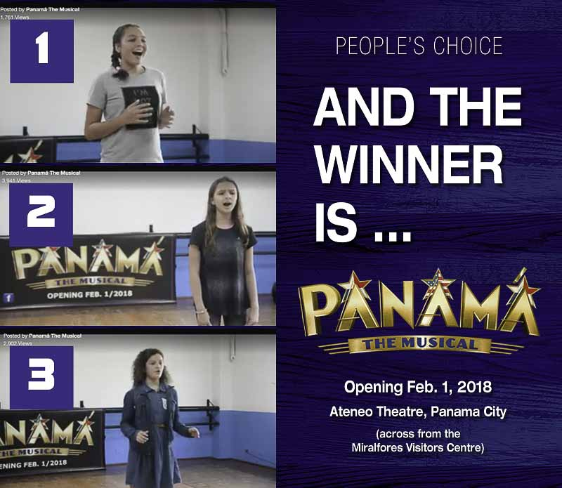 ticket winners - Panama the Musical